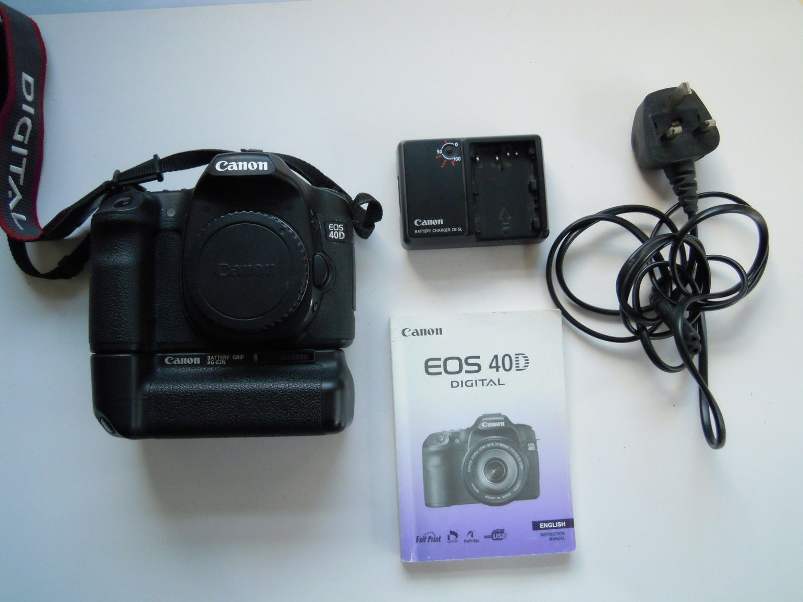Canon EOS 40D 10 1 MP Digital SLR Camera - Black with